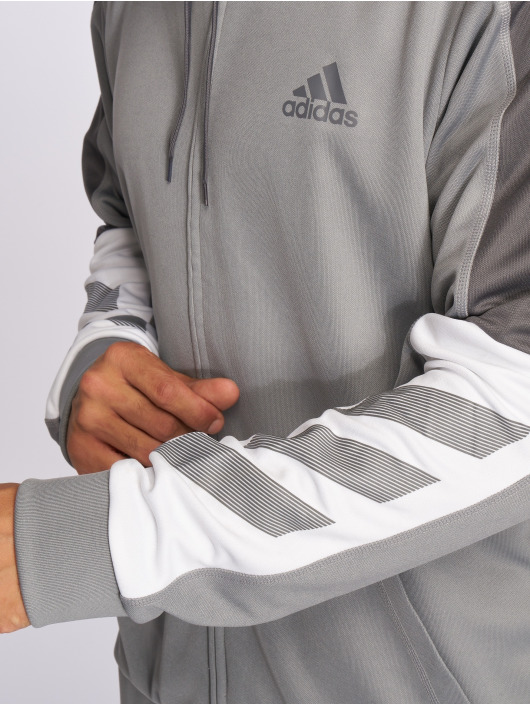 adidas Performance Zip Hoodie ACT серый