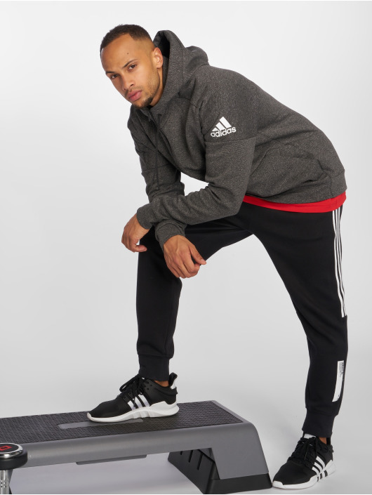 adidas Performance Zip Hoodie ID Stadium czarny