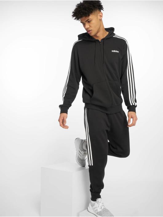 adidas Performance Zip Hoodie 3S czarny