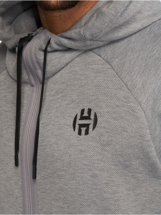 adidas Performance Zip Hoodie Harden grau