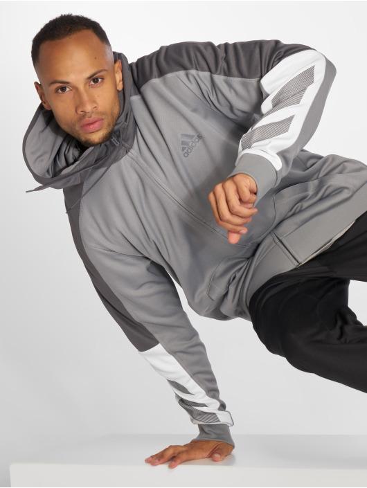 adidas Performance Zip Hoodie ACT grau