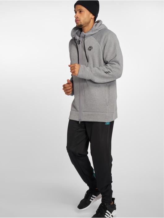 adidas Performance Zip Hoodie Harden grey