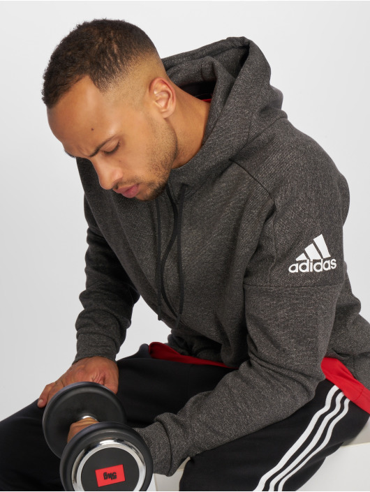 adidas Performance Zip Hoodie ID Stadium svart