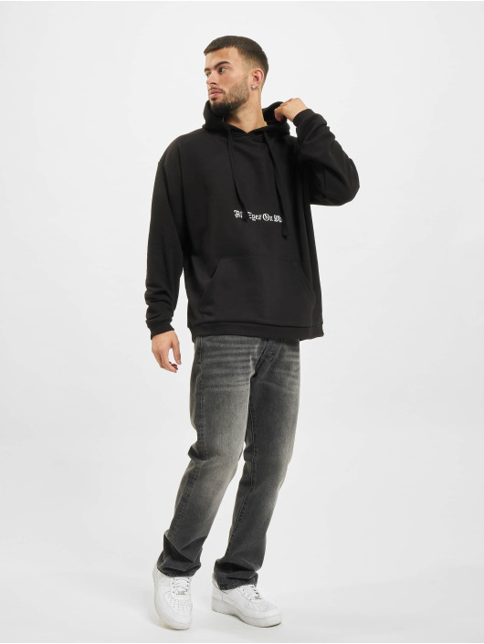 AEOM Clothing Bluzy z kapturem Old Hodded czarny