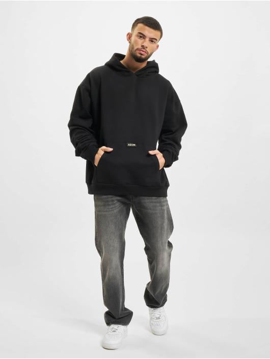 AEOM Clothing Hoodie Blanc Basic svart