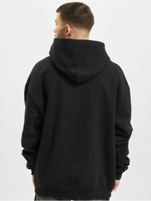 AEOM Clothing Hoody Blanc Basic zwart