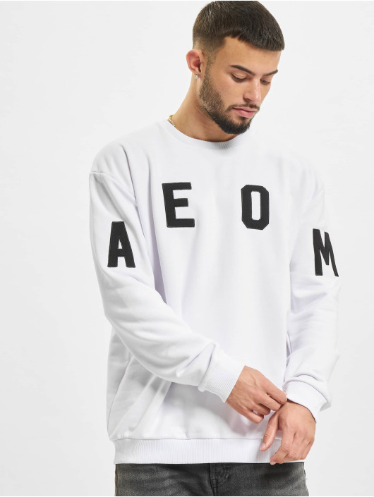 AEOM Clothing Swetry College bialy