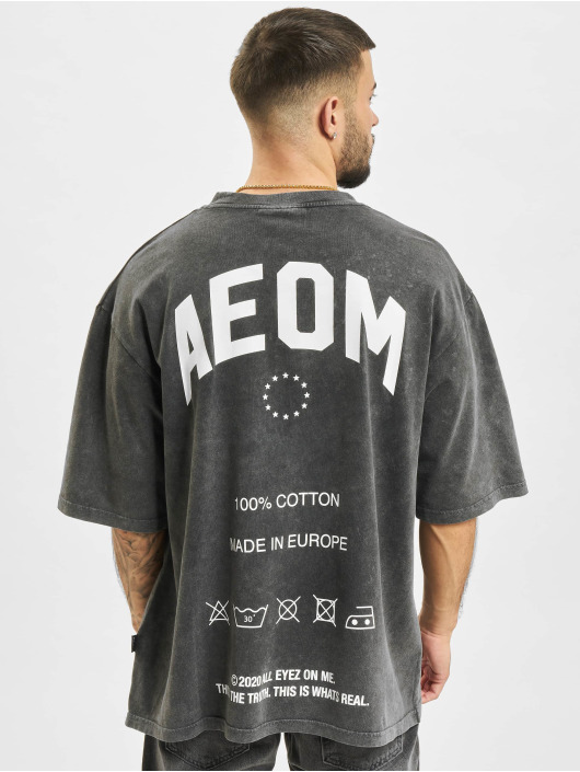 AEOM Clothing T-paidat Made In Europa harmaa