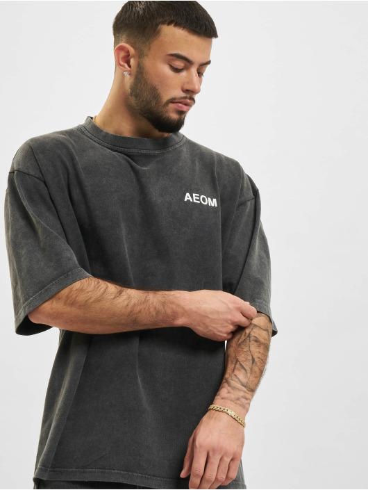 AEOM Clothing T-paidat Flag harmaa
