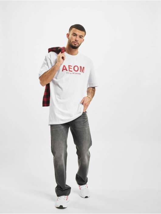AEOM Clothing T-Shirt Big Tour blanc