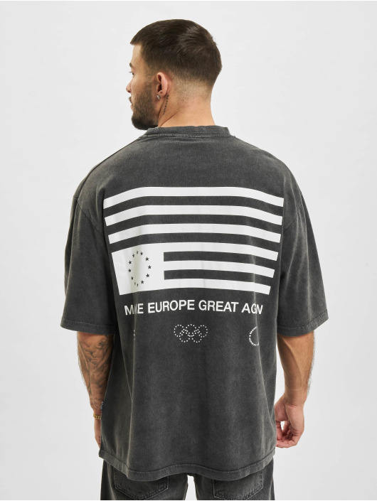 AEOM Clothing T-shirt Flag grå