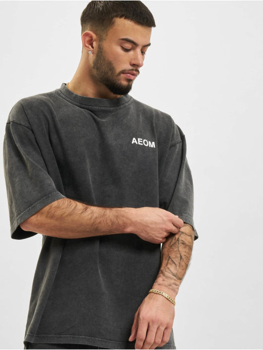 AEOM Clothing T-Shirt Flag grau