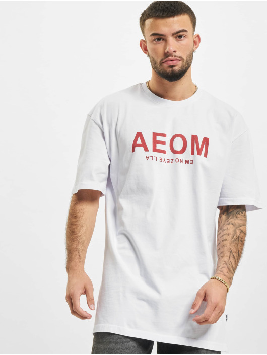 AEOM Clothing T-Shirt Big Tour weiß