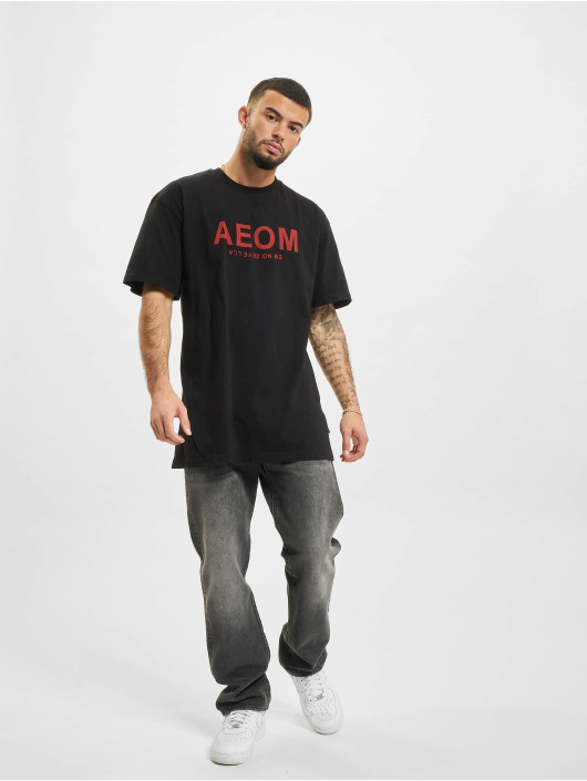 AEOM Clothing t-shirt Big Tour zwart