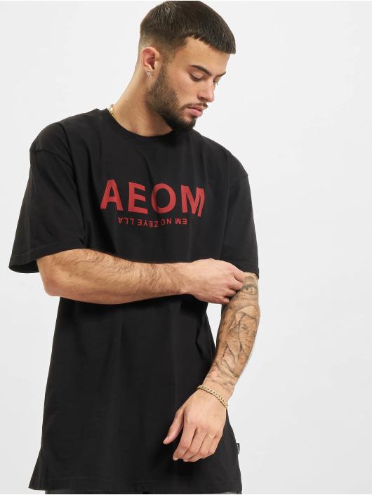 AEOM Clothing T-Shirty Big Tour czarny