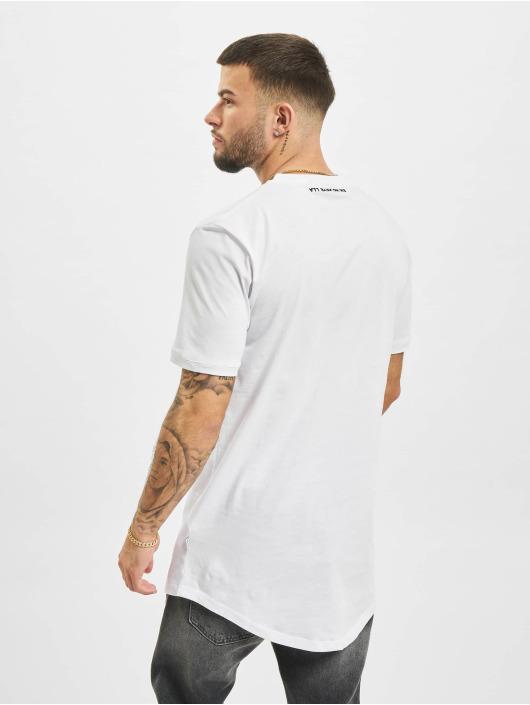 AEOM Clothing Tričká Logo biela