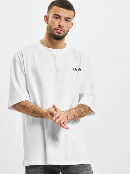 AEOM Clothing Trika Flag bílý