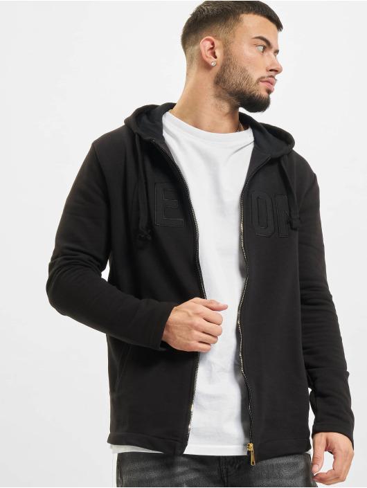 AEOM Clothing Vetoketjuhupparit Clothing Off Black musta
