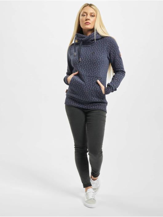 Alife & Kickin Bluzy z kapturem Sarah B niebieski