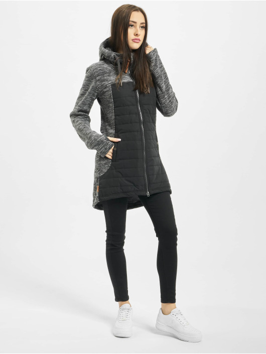 Alife & Kickin Lightweight Jacket Charlotte Downlook Fleece grey