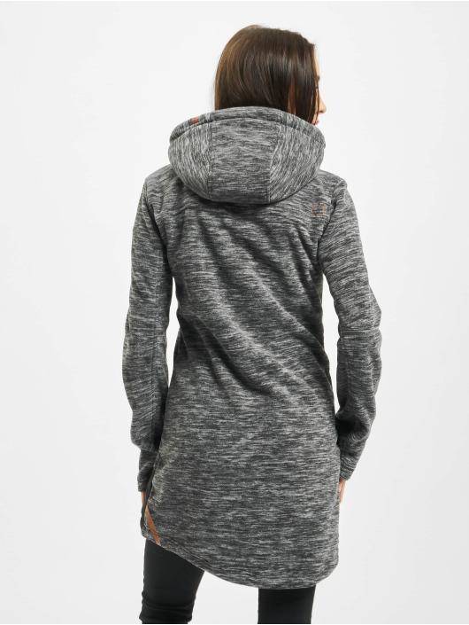 Alife & Kickin Prechodné vetrovky Charlotte Downlook Fleece šedá
