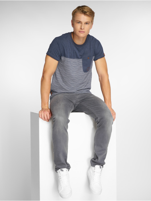 Alife & Kickin T-Shirt Leo blau