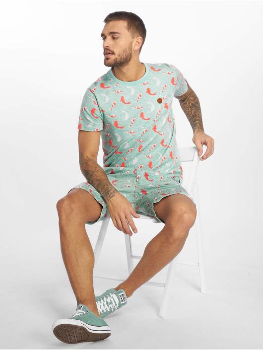Alife & Kickin T-Shirt Nic B türkis