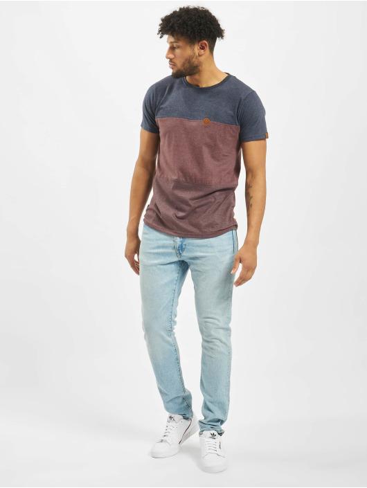 Alife & Kickin T-Shirty Ben B czerwony