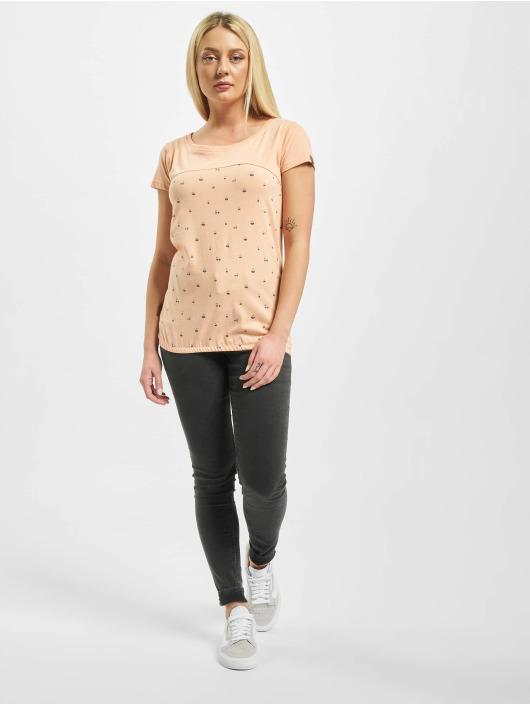 Alife & Kickin T-Shirty Clarice pomaranczowy
