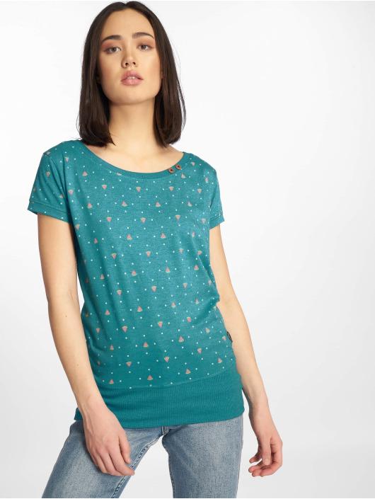 Alife & Kickin T-Shirty Coco turkusowy