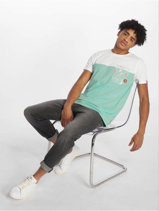 Alife & Kickin T-skjorter Leo A turkis