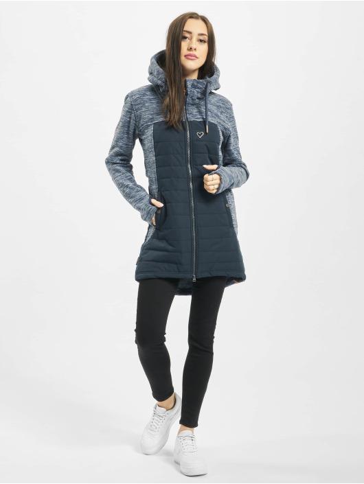 Alife & Kickin Übergangsjacke Charlotte Downlook Fleece blau