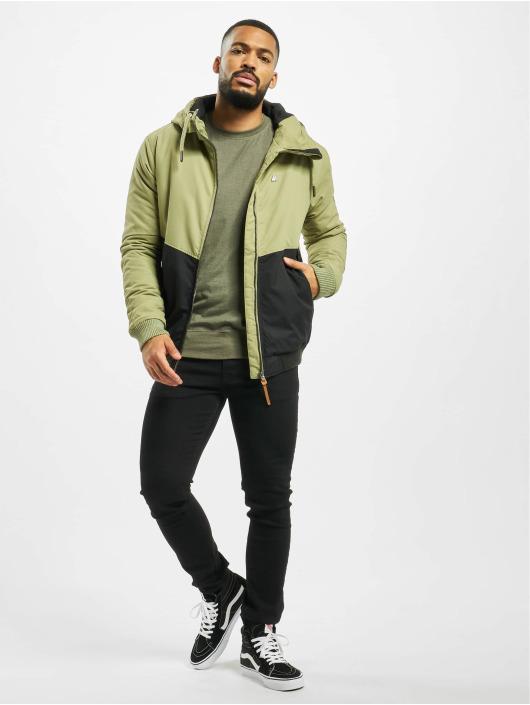 Alife & Kickin Winter Jacket Don Esteban green
