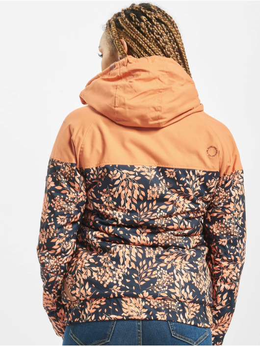 Alife & Kickin Winter Jacket Black Mamba orange
