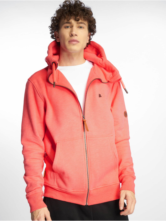 Alife & Kickin Zip Hoodie Trasher orange