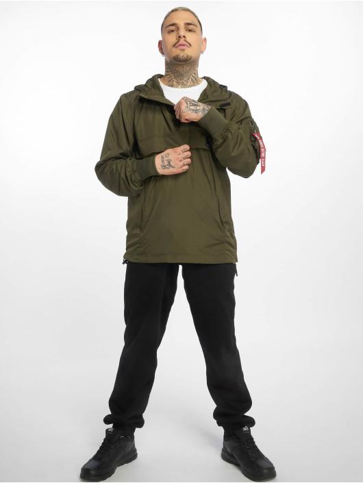 Alpha Industries Демисезонная куртка Glider оливковый