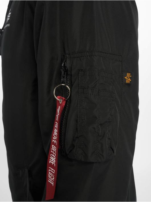 Alpha Industries Демисезонная куртка Backprint черный