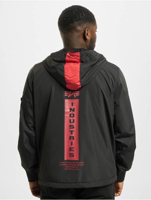 Alpha Industries Демисезонная куртка Defense Anorak черный