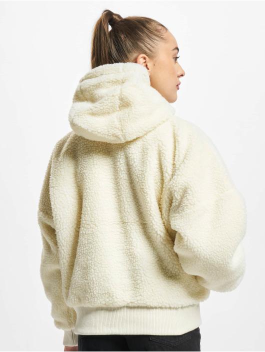 Alpha Industries Зимняя куртка MA-1 OS Hooded Teddy WMN белый