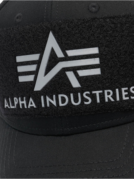 Alpha Industries Кепка с застёжкой BV Reflective Print серебро
