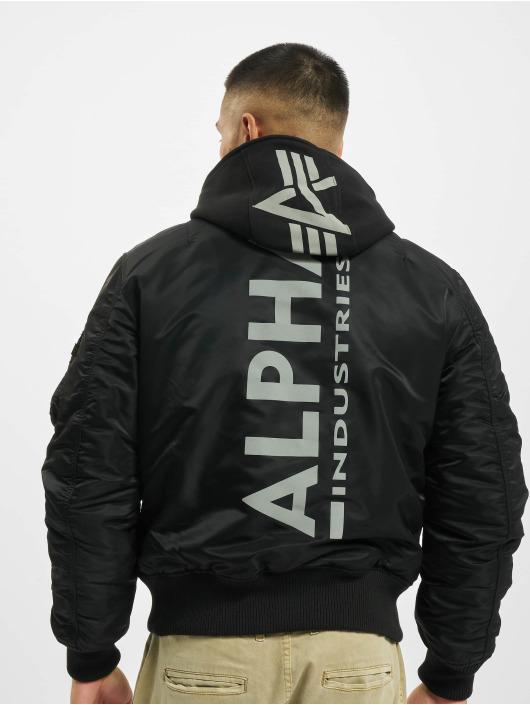 Alpha Industries Куртка-бомбардир Ma-1 Zh Back черный