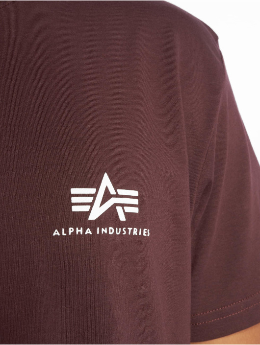 Alpha Industries Футболка Basic Small красный