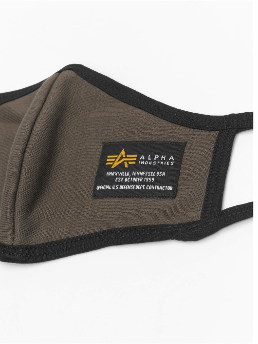 Alpha Industries Autres Heavy Crew Face Mask olive