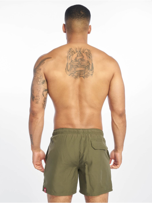 Alpha Industries Badeshorts Basic olive