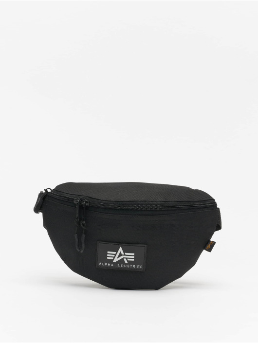 Alpha Industries Bag Rubber Print black