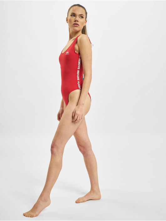 Alpha Industries Bathing Suit RBF Tape red