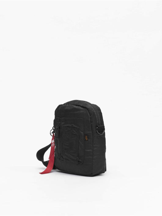 Alpha Industries Bolso Crew Carry negro
