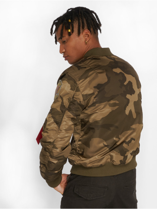 Alpha Industries Bomber MA-1 Pilot camouflage