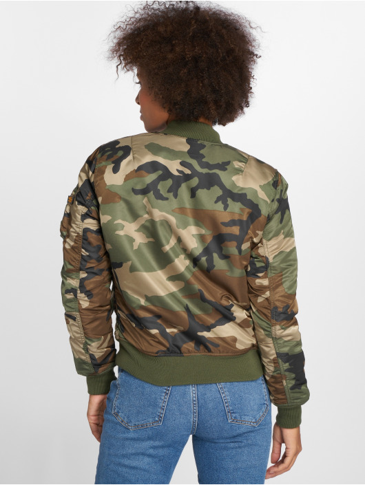 Alpha Industries Bomber MA-1 SF camouflage