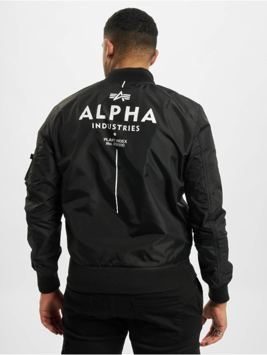 Alpha Industries Bomber jacket Ma-1 TT Glow In The Dark black